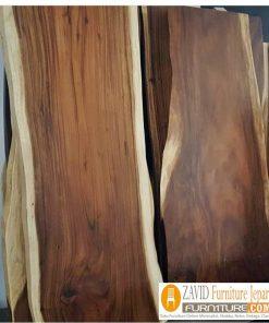 papan kayu trembesi baru