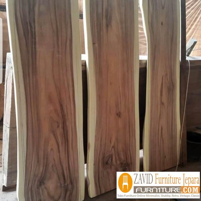 papan kayu trembesi unik - Papan Kayu Trembesi Murah Kayu Solid