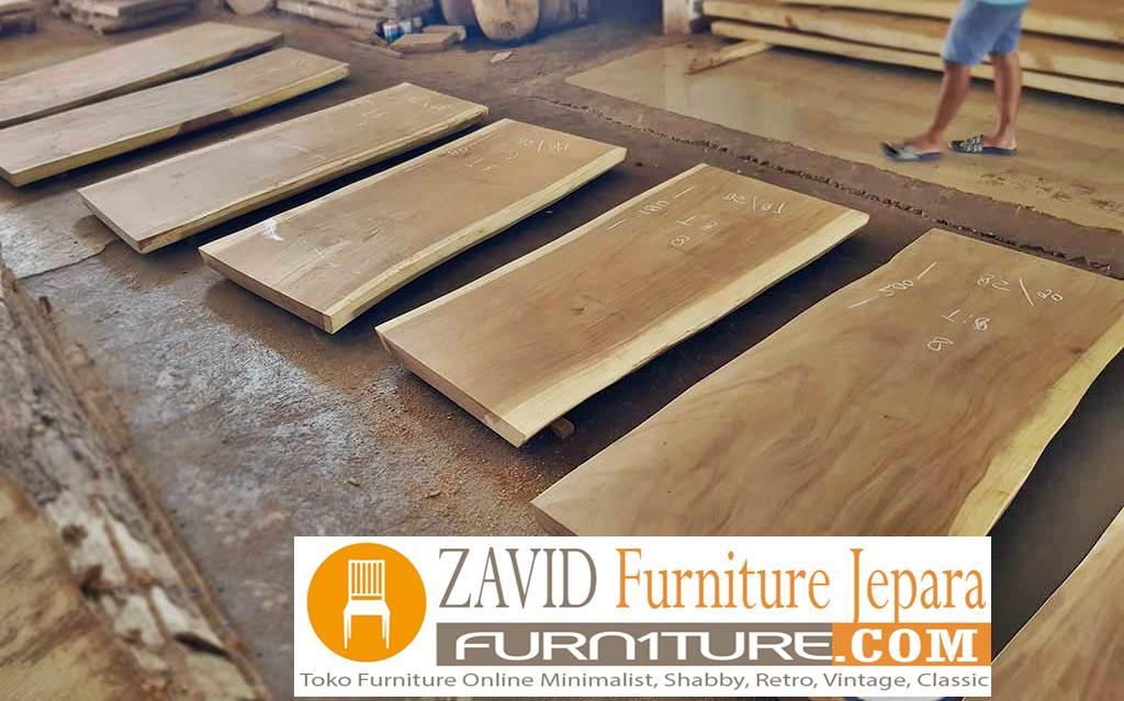 papan kayu trembesi - Papan Kayu Trembesi Murah Kayu Solid