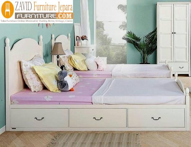 tempat tidur laci minimalis duco 1 - Tempat Tidur Laci Bekasi Minimalis Duco
