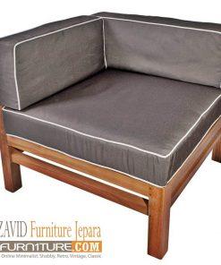 kursi sudut modern kayu jati 247x296 - Toko Furniture Jepara | Spesialis Mebel Jepara Online Kota Ukir