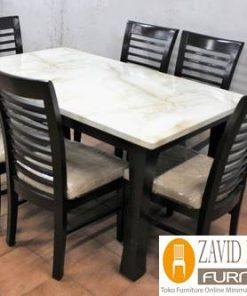 meja amkaan marmer minimalis persegi 247x296 - Toko Furniture Jepara | Spesialis Mebel Jepara Online Kota Ukir