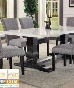 meja makan marmer persegi panjang modern 247x296 - Toko Furniture Jepara | Spesialis Mebel Jepara Online Kota Ukir