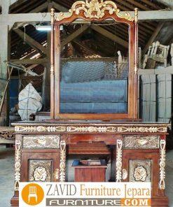 meja rias cinta ukir kayu jati 247x296 - Toko Furniture Jepara | Spesialis Mebel Jepara Online Kota Ukir