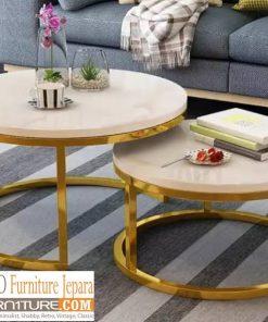 meja tamu marmer bulat 247x296 - Toko Furniture Jepara | Spesialis Mebel Jepara Online Kota Ukir